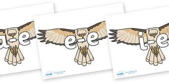 Modifying E Letters on Hawks - Modifying E, letters, modify, Phase 5, Phase five, alternative spellings for phonemes, DfES letters and Sounds