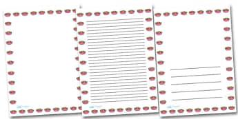 Fruit Salad Portrait Page Borders- Portrait Page Borders - Page border, border, writing template, writing aid, writing frame, a4 border, template, templates, landscape