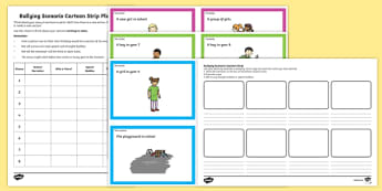Anti Bullying Week Bullying Scenario Cards and Activities
