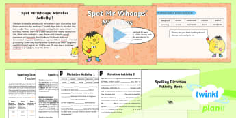 PlanIt Spelling Year 6 Term 2B W7: Assess & Review Spelling Pack - Spellings Year 6, Y6, GPS, SPaG, assess, assessment, review, words, lists, dictation, passages, Mr W