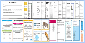 Summer Holiday Transition Year 3 Moving Into Year 4 Activity Pack - holiday homework, preparing for new year, revision, parents, summer holiday