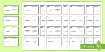 Free Time Loop Cards Spanish - Secondary, 15, minutes, revision, spellings, spanish, topic, activities, game, pairs, groups, free,