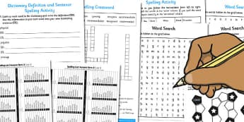 Year 6 Autumn Term Spelling Lists and Resources Pack - spelling