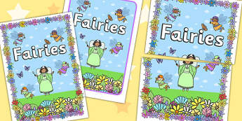 Fairies 2xA4 Display Poster - fanstasy, fairy, posters, display