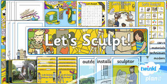 PlanIt - Art KS1 - Let's Sculpt Unit Additional Resources