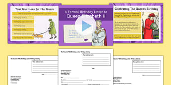 The Queen's 90th Birthday Letter Writing Resource Pack