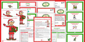 Christmas Elf Resource Pack - christmas elf, resource pack,  shelf, christmas, elf