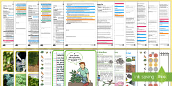 EYFS Parks and Gardens Adult Input Planning and Resource Pack - playgrounds, outside, outdoor, adult led, teacher led, ta led, adult input, plans, lesson plans, les