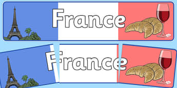 France Display Banner - France, Olympics, Olympic Games, sports, Olympic, London, 2012, display, banner, sign, poster, activity, Olympic torch, flag, countries, medal, Olympic Rings, mascots, flame, compete, events, tennis, athlete, swimming