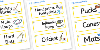Flower Themed Editable PE Resource Labels - Themed PE label, PE equipment, PE, physical education, PE cupboard, PE, physical development, quoits, cones, bats, balls, Resource Label, Editable Labels, KS1 Labels, Foundation Labels, Foundation Stage Lab