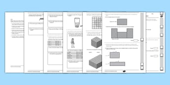 Year 5 Maths Assessment: Measurement Term 3 - Maths, Assessment, Measurement