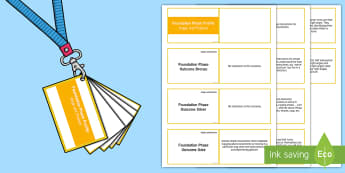 Lanyard Sized Foundation Phase Profile Angle and Position Skills Ladders Cards -  Lanyard Foundation Phase Outcomes, Foundation Phase, Foundation Phase Profile, FPP, Wales, Assessme