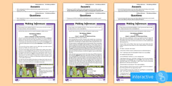 Father's Day Inference Differentiated Go Respond Activity Sheets - KS2, LKS2, UKS2, Y 5&6, Year five and six, Y 3&4, Year Three and Four, Key Stage Two, Key Stage 2, T