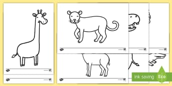 Colouring Sheets to Support Teaching on Rumble in the Jungle - Story, book, resources, Giles Andreae, David Wojtowycz, colouring, activity, fine motor skills, teaching resources, book resources, jungle creatures, jungle, book resource