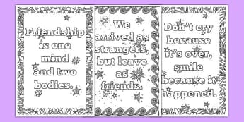 End of School Year Mindfulness Coloring Sheets - usa, america, end of year, mindfulness
