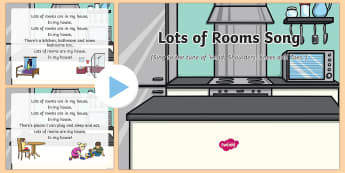 Lots of Rooms Song PowerPoint
