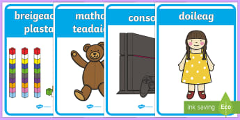 Toy Shop Display Posters - cfe, curriculum for excellence, toy shop, toy, shop, gaelic, display posters, display, posters