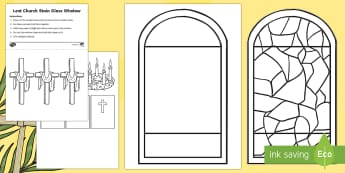 Lent Art Cut-Outs - Lent, Colouring, Colouring pages, Ash Wednesday, Easter Sunday, Art, Church, Religion, Religious sym