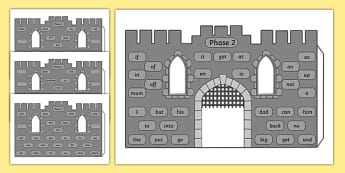 High Frequency Words 3D Castle Visual Aid - visual aid, castle