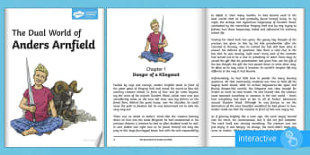 The Dual World of Anders Arnfield Story eBook - anders arnfield, story, KS2, English, storybook, fiction, adventure, fantasy