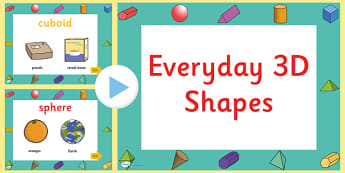 Every Day 3D Shapes PowerPoint - numeracy, shapes,3d, powerpoint, 3D, shapes, 3D shapes, powerpoint, shapes powerpoint, every day shapes, class discussion, discussion starter, group activity