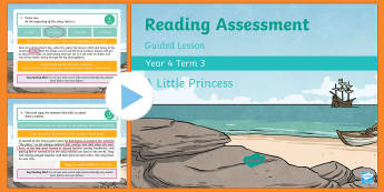 Year 4 Reading Assessment Fiction Term 3 Guided Lesson PowerPoint - Year 3, Year 4 & Year 5 Reading Assessment Guided Lesson PowerPoints, KS2, reading, read, assessment