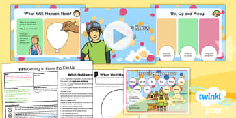 PlanIt Y2 Up Lesson Pack Film (1) - explorers, adventure, story, stories, film, Up