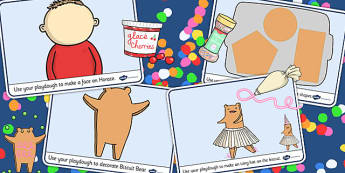 Playdough Mats to Support Teaching on Biscuit Bear - Biscuit, Bear, playdough, mats