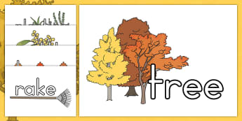 Autumn Topic Words On Topic Images - seasons, weather, display