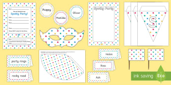 Spotty Party Resource Pack