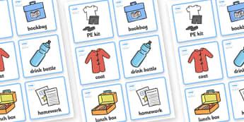 Morning Organisation Cards -  Timetable, daily routine, education, home school, child development, children activities, free, kids, children behaviour