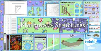 PlanIt - DT UKS2 - Marbulous Structures Unit Additional Resources - planit, design and technology, dt, uks2, marbulous structures, additional resources