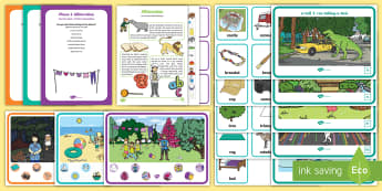 Childminder Alliteration EYFS Resource Pack - EYFS, Aspect 5, letters and sounds, phoneme, initial, child minder, childminding