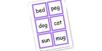 CVC Words - CVC Words Literacy Primary Resources -  Primary Resources, CVC, c