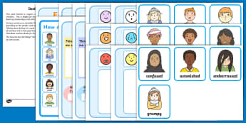 Creating an Emotions Book LSA Activity Pack - emotional literacy, emotions book, emotional regulation, LSA pack