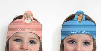 The Tale of Mrs Tiggy Winkle Role Play Headband - mrs tiggy winkle