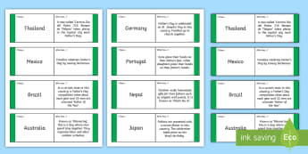 Father's Day Traditions from Around the World Loop Cards - ROI - Fathers Day Lá na hAithreacha 18.06.17, traditions, around, the, world, portugal, brazil, ger