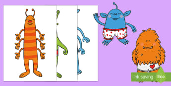 Large Aliens Display Cut-Outs - EYFS, Aliens Love Underpants, Claire Freedman, Ben Cort, space, planets, activities