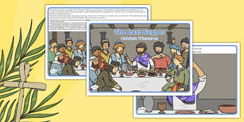 The Last Supper Story Polish Translation - polish, Easter, stories, christianity, religion