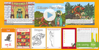 Chinese New Year Animals - CNY, animals, chinese new year - Chinese New Year Animals - CNY, animals, chinese new year, animal, story