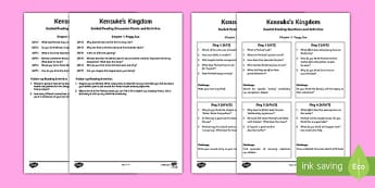Kensuke's Kingdom Guided Reading Pack - read, reading aid, story