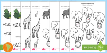 Color by Size Activity Sheet Pack n - US English/Spanish (Latin) - measure, measuring, size, order, colour, largest, smallest, tallest, shortest, longest, heaviest, li