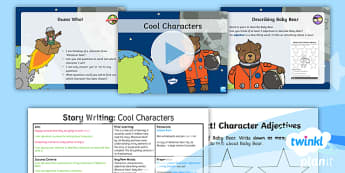 Y1 PlanIt Space: To Support Teaching on Whatever Next! Lesson Pack Story Writing (1) - Planit, English, Space, Whatever Next!, Jill Murphy, bears, planets, writing, literacy, ks1, key stag
