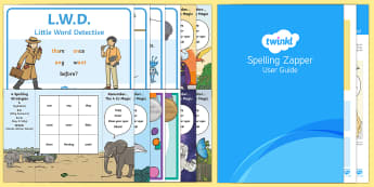 KS1 Spelling Zapper Set Up Pack - spelling, writing, spellings