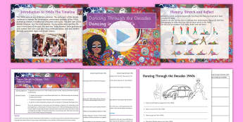Dancing Through the Decades Lesson 2: The 1960s - Dancing Through the Decades, dance, KS3, 1960s, sixties, Fosse, Beyoncé, twist, pony step.