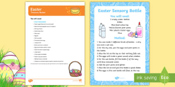 Easter Treasure Basket Ideas - Easter, heuristic play, discovery basket, spring time, spring, sensory play, baby play