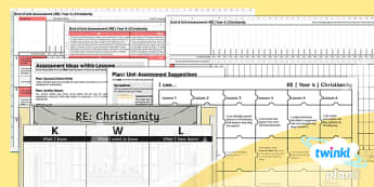PlanIt - RE Year 4 - Christianity Unit Assessment Pack