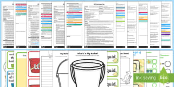 Adult Input Planning and Resource Pack to Support Teaching on Harry and the Bucketful of Dinosaurs - Harry and the Bucketful of Dinosaurs, Ian Whybrow, dinosaurs, utw, lessons, planning, plans, activti