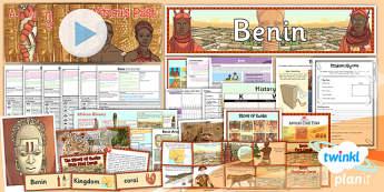 PlanIt - History UKS2 - Benin Unit Pack - planit, unit, pack, benin