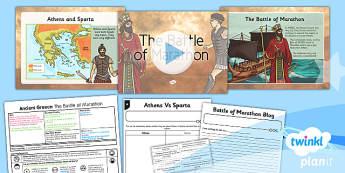PlanIt - History KS2 - Ancient Greece Lesson 4: The Battle of Marathon Lesson Pack
